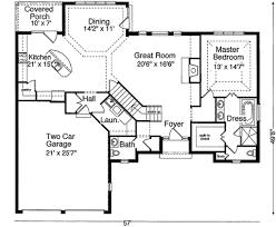traditional style house plan 3 beds 2 50 baths 2077 sq ft plan