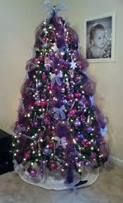 decoration purple tree ornaments home