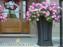 camden tall patio planter vinyl planters pots u0026 planters