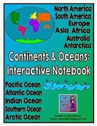 clip art by carrie teaching first continents and oceans review
