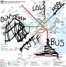 Back Bay Boston Map by Boston Mbta Snow Map For February 16 By Sara Transit Maps