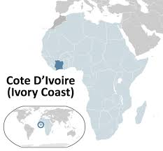 Ivory Coast Map Missions Sunday Feat Jeter Livingston Missionary In Ivory Coast