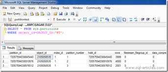 table partitioning in sql server how to do table partitioning to an existing source table sql articles