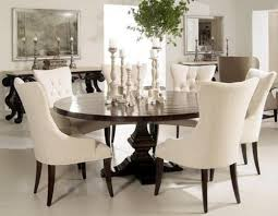 Circle Dining Table Has Dining Table And Chairs To Make Your Home Pleasing