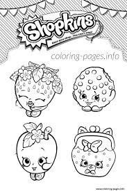 4 shopkins world list coloring pages printable