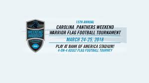Flag Football Charlotte Nc Getting Ready For The Carolina Panthers 15th Annual Weekend