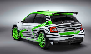 mitsubishi rally car skoda fabia r5 concept previews 2015 wrc 2 rally car