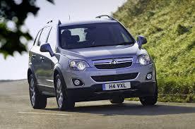 opel suv antara vauxhall antara facelift revealed autocar