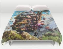 Tortoise Bedding Premium Howls Moving Castle Comforter Cover Bedding