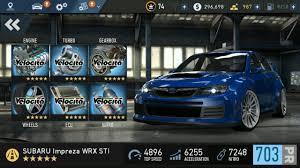 Subaru Top Speed Best Car Of Nfs No Limits