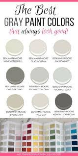 Stonington Gray Benjamin Moore The Best Gray Paint Colors Never Fail Gray Paints