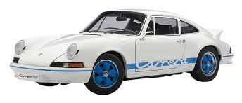 amazon com porsche 911 carrera rs 2 7 1973 white with blue