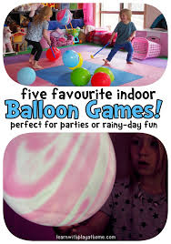 5 indoor balloon balloons indoor and small groups