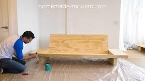 Sofa Modern Modern Ep111 Plywood Table