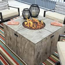 Gas Fire Pit Table Sets - clearance fire pits clearance marvelous fire pit table sets