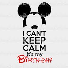 i can u0027t keep calm birthday boy svg dxf eps png digital file