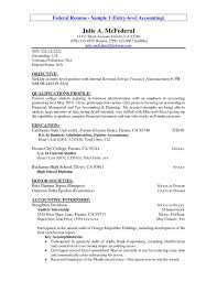 Example Of It Resume by It Resume Objective 22 Resume Objective Samples Accounting