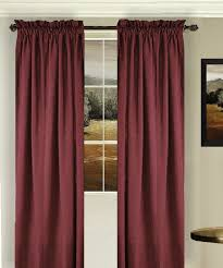 Wine Colored Curtains Solid Wine Colored Window Curtain Available In Many