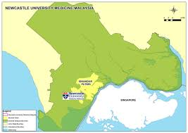 Newcastle England Map by Campus Newcastle University Medicine Malaysia Newcastle University