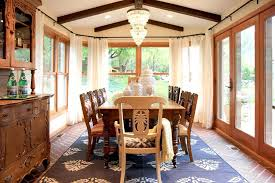 Black And White Ball Decoration Ideas Dining Room Minimalist Sunroom Dining Using Modern Walnut Side