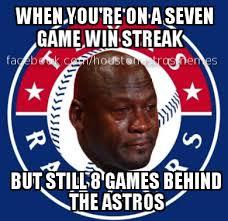 Houston Astros Memes - poor rangers anthony houston astros memes facebook