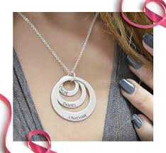 personalized mothers day necklace affordable personalized jewelry for s day messages