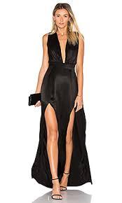 revolve dresses friends x revolve gown in black revolve