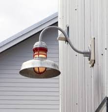 galvanized gooseneck barn light outback gooseneck light industrial ta by barn light usa