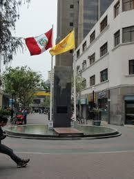 Lima Flag Mein Jahr In Peru Lima Miraflores Und Zentrum