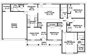 4 bedroom house blueprints 4 bedroom house blueprints one floor 4 bedroom house blueprints 4