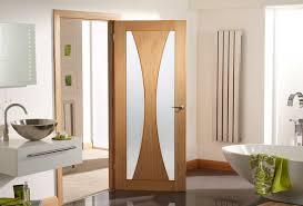 bathroom door with frosted glass gallery glass door interior