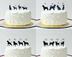 wedding cake options animal wedding cake topper etsy