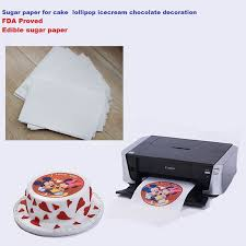 where to buy edible paper a4 25pcs lot edible rice paper for cakes lollipop icecream