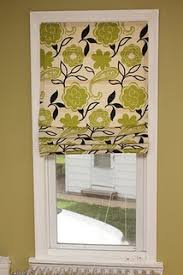 Make Your Own Window Blinds How To Use A Mini Blind To Make A Roman Shade Without Sewing