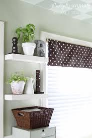 ideas for kitchen shelves kitchen floating shelves risenmay