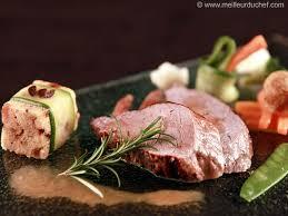 cuisiner filet mignon filet mignon de veau au romarin et sa polenta aux olives recette