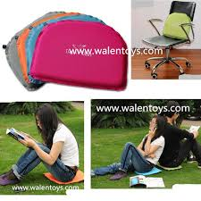 multi function folding blow up cushion inflatable travel seat
