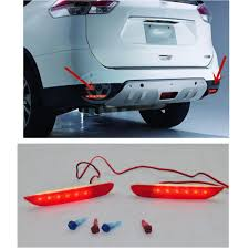 nissan qashqai j11 problems led rear bumper reflectors lights lamp for nissan infiniti qashqai