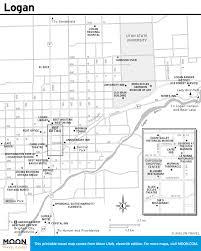 Map Of Southern Utah by Printable Travel Maps Of Utah Zion U0026 Bryce Moon Com