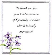 thank you for sympathy card sympathy thank you notes stationery note cards co uk
