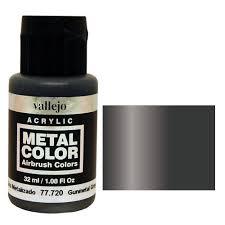 vallejo model color paint gunmetal grey