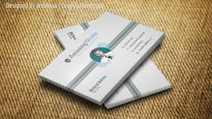 Business Card Psd Free Creative One Sided Free Business Card Psd On Behance