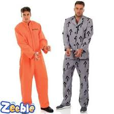 orange jumpsuit prisoner fancy dress costume orange jumpsuit mens grey suit