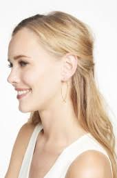 hammered hoops wire earrings gold hammered earrings stella dot
