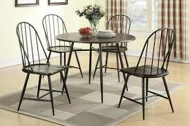 black metal leg dining chair modern dining room furniture sets
