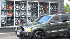 hillyard custom rim u0026tire 2007 jeep grand cherokee 20 inch off road