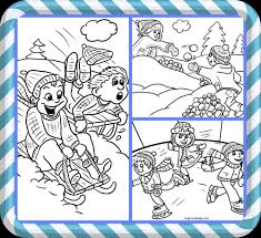 free printable winter coloring pages kids crafty morning