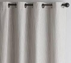 Ticking Stripe Curtains Wheaton Stripe Drape Home Dustin Drive Pinterest Striped