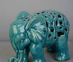 shop american rustic mediterranean style blue ceramic