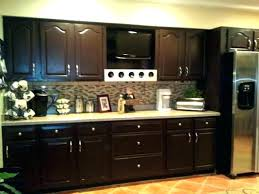how do you stain kitchen cabinets grey stained kitchen cabinets dark staining kitchen cabinets